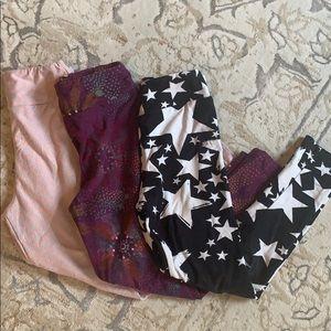 Children's lularoe leggings S/M